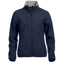 Basic Softshell Jacket - dam/herr